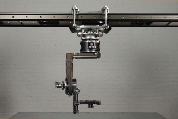 MYT Works Large Camera Slider, Velour Nodal Head, Underslung Bracket