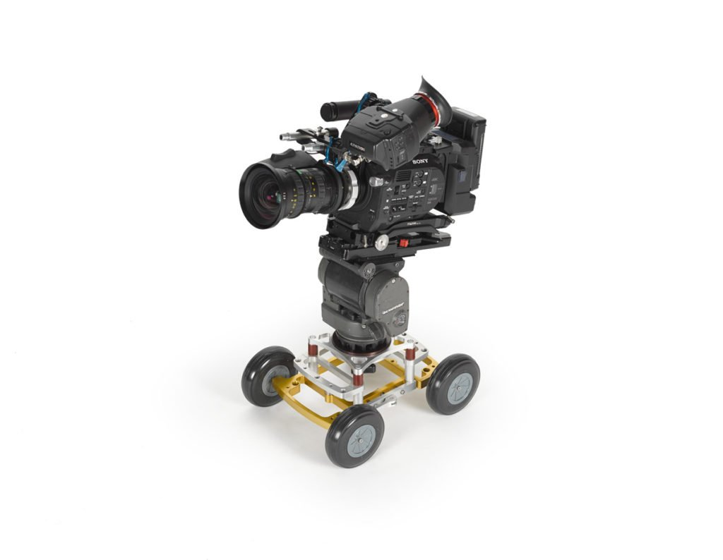 myt works rover dolly with hi-hat and camera