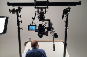 michael palmieri large camera slider nodal head myt works in action