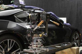 myt works camera slider in action fancy car