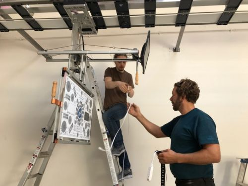 opti-glide installation at chicago camera ambassador