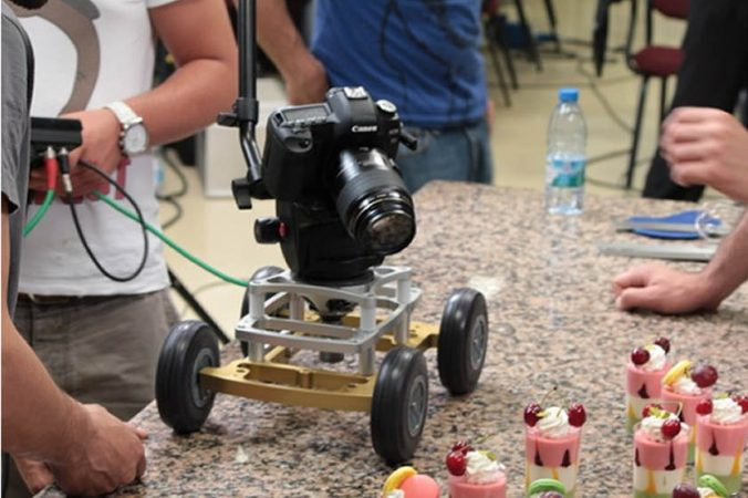 myt works rover dolly in action desserts