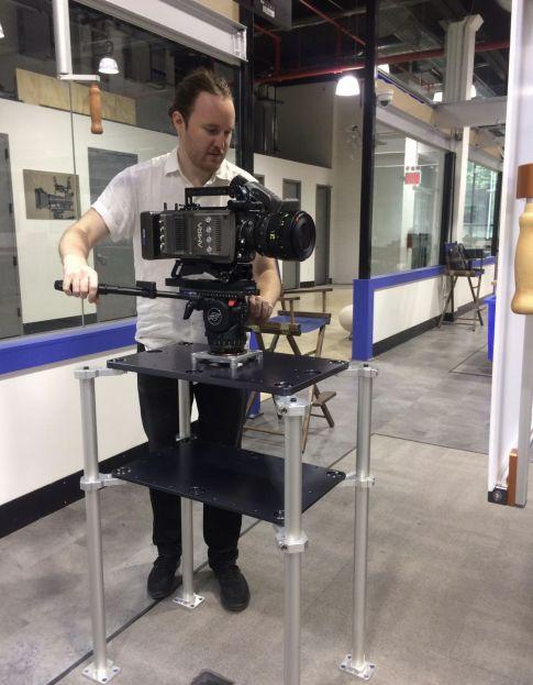 MYTWorks Opti-Glide Pedestal In Action