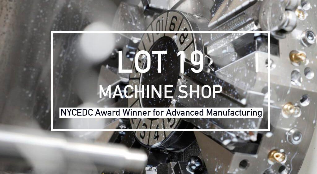 Lot 19 machine shop