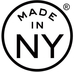 Made in new york city sign