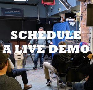 schedule a live demo