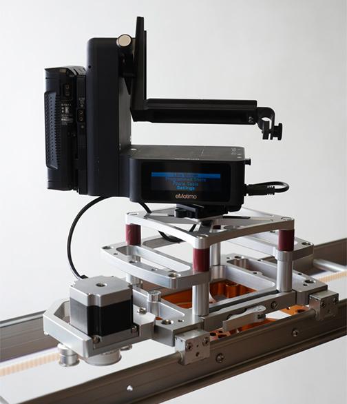 eMotimo MYT Works Camera Slider Integration